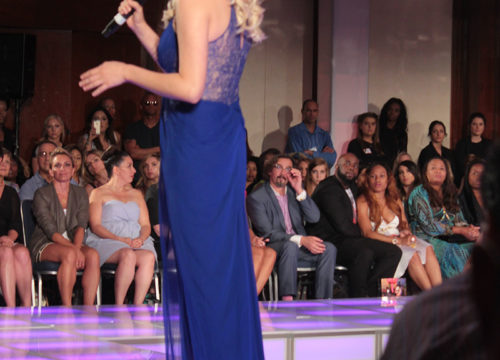 Brielle at Andre Aquino Fashion Show